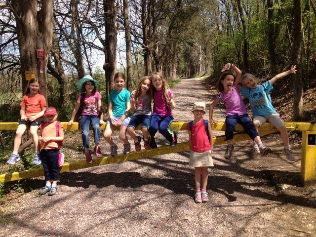 Girls Outside hike for younger girls!