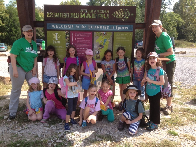 Girls Outside has had many adventures at Ijams Nature Center before -- look for more adventures WITH Ijams Nature Center coming soon!